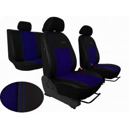 Autopoťahy Exclusive Alcantara - modré