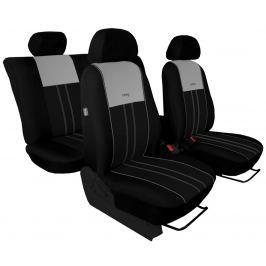 Autopoťahy DUO Luxus čierno-šedé