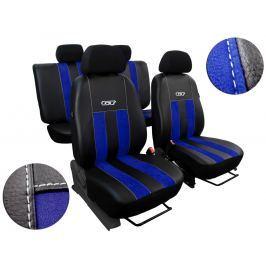 Autopoťahy Leather Look GT modré
