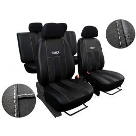 Autopoťahy Leather Look GT čierne