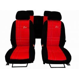 Autopoťahy S type Leather - červené
