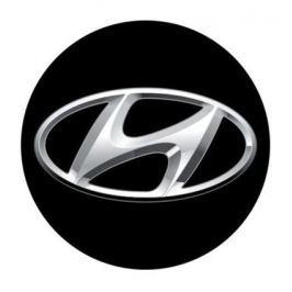 3D CAR LOGO HYUNDAI