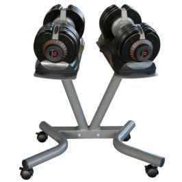 Nastaviteľné činky BODYTRADING 5-32,5 kg + stojan