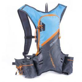SPRINTER - Cyklistický a bežecký batoh 5l modrý, vodeodolný*