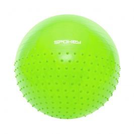 HALF FIT Gymnastická lopta 2v1 65 cm vrátane pumpičky zelená*