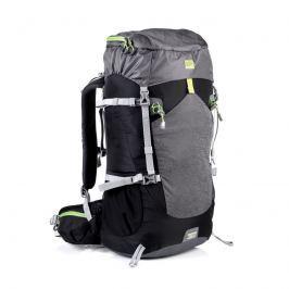 LUKLA Batoh trekingový 50 l, čierna-šedá-zelená*