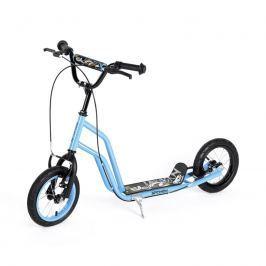 Kolobežka HOG, nafukovacie  kolesá 12 modrá*