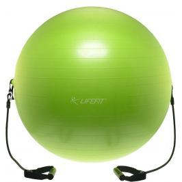 Gymnastická lopta s expanderom LIFEFIT Gymball EXPAND 75 cm