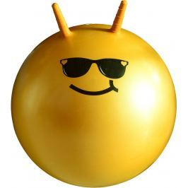 Detská skákacia lopta LIFEFIT JUMPING BALL 55 cm, oranžová
