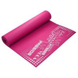 Gymnastická podložka LIFEFIT SlimFit PLUS, 173x61x0,6cm, svetlo ružová