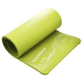 Podložka LIFEFIT YOGA MAT EXKLUZIV, 180x60x1,5cm, svetlo zelená