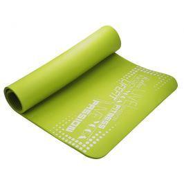 Podložka LIFEFIT YOGA MAT EXKLUZIV, 100x60x1cm, svetlo zelená