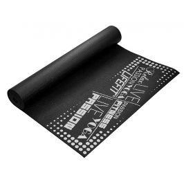 Gymnastická podložka LIFEFIT SlimFit PLUS, 173x61x0,4cm, čierna