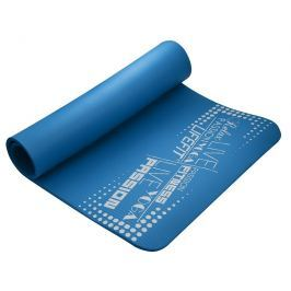 Podložka LIFEFIT YOGA MAT EXKLUZIV, 100x60x1cm, modrá