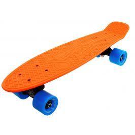 Penny board 22 NEON oranžovo-modrá
