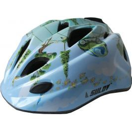 Detská cyklo helma SULOV GUAR - modrá
