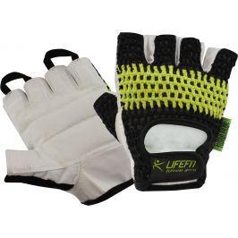Fitnes rukavice LIFEFIT FIT čierno-zelené