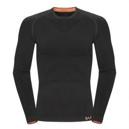 Contour M T-shirt LS čierna