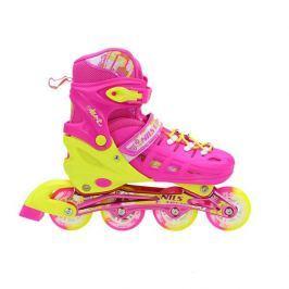 Detské korčule Nils Extreme NA1005A - ružové