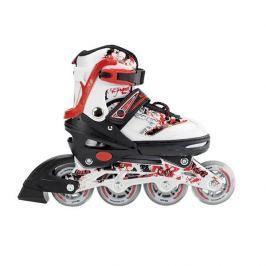 Detské korčule Nils Extreme NJ3012 A - červené