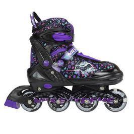 Detské korčule Nils Extreme NJ4613 - fialové