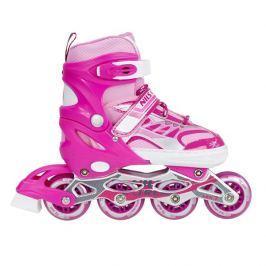 Detské korčule Nils Extreme NA1828A - ružové