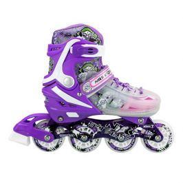 Detské korčule Nils Extreme NJ1812 - fialové