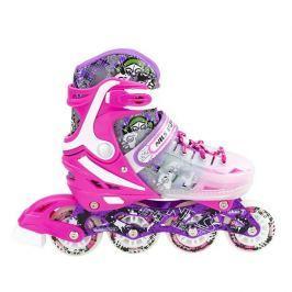 Detské korčule Nils Extreme NJ1812 - ružové
