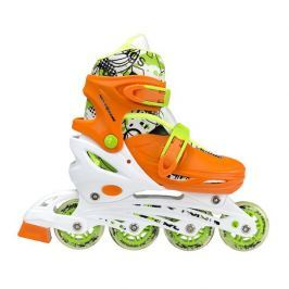 Detské korčule Nils Extreme NH18330 4v1 - oranžové