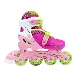 Detské korčule Nils Extreme NH18330 4v1 - ružové
