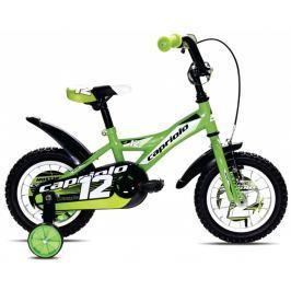 Detský bicykel Capriolo BMX 12 Mustang zelený