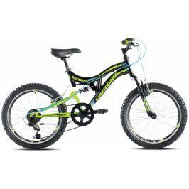 Detský horský bicykel Capriolo 20 CTX 200 zelený