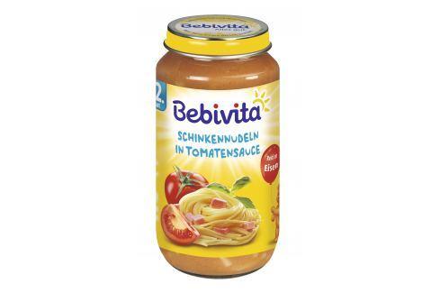 Bebivita Paradajková omáčka s cestovinami a šunkou 6x250g