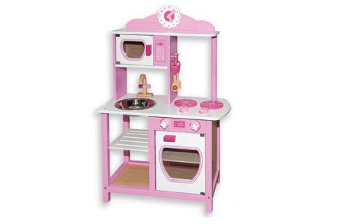 ANDREU Toys Ružová kuchynka
