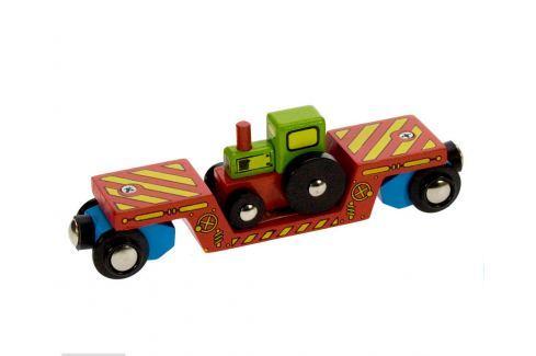 Bigjigs Vagón s traktorom