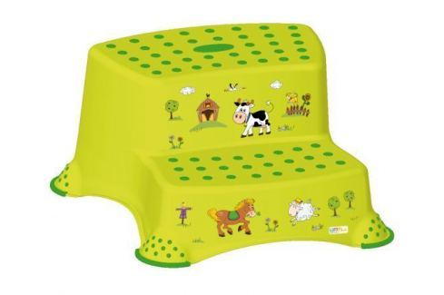 Keeeper Duo stúpadlo Funny Farm, zelené