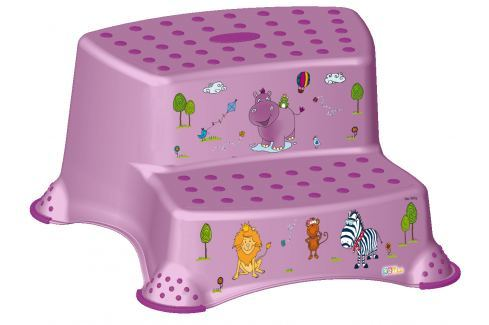 Keeeper Duo stúpadlo Hippo, fialové