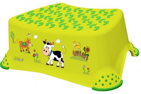 Keeeper Stúpadlo Funny Farm, zelené