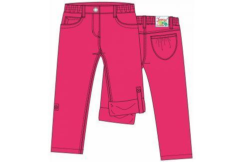 Blue Seven Dievčenské vyhrňovacie nohavice - ružové