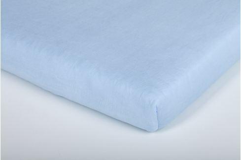 Träumeland Modré tencel prestieradlo 60x120 cm až 70x140 cm