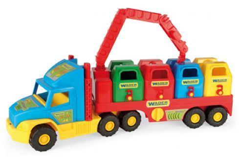 WADER Auto Super Truck smetiari plast 75 cm