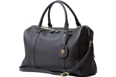 PacaPod FIRENZE hnedá - luxusná kožená kabelka aj prebaľovacia taška