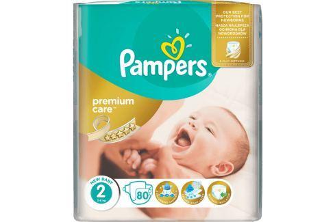 Pampers Premium Care Mini 2, 80 ks (3-6 kg) - jednorazové plienky