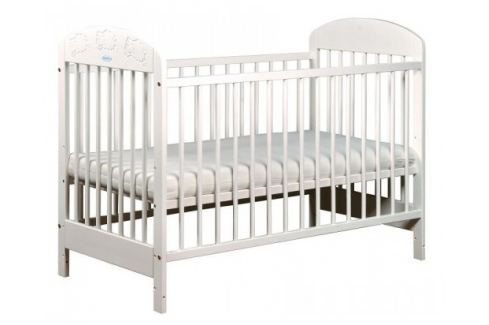 Puppolina Detská postieľka Julie, 120x60 cm - biela