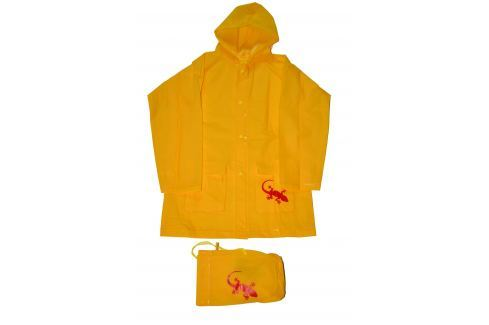 PIDILIDI Detská pláštenka Salamander - žltá