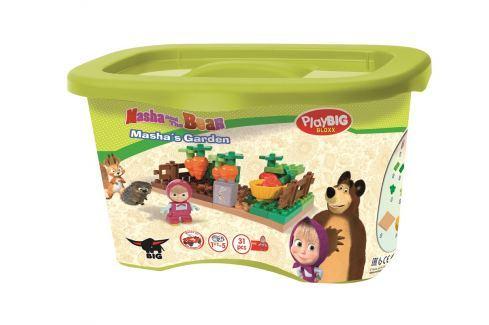 BIG PlayBIG Bloxx Máša a medveď Mášina záhradka