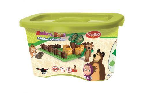 BIG PlayBIG Bloxx Máša a medveď Mišova záhradka