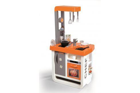 Smoby Kuchynka Bon Appetit oranžová