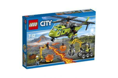 LEGO® City 60123 Sopečná zásobovacia helikoptéra