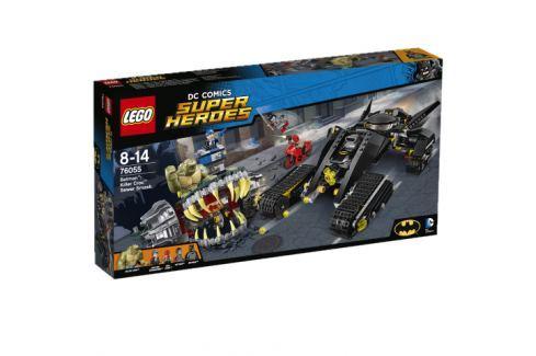 LEGO® Super Heroes 76055 Batman ™: Killer Croc ™ Zničenie vo stokách